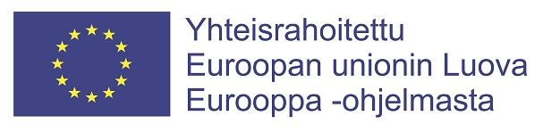Creative Europe logo (Finnish text)